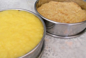 Sablé + mango curd