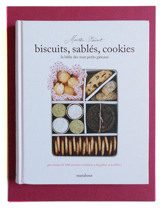 Livre sur les biscuits