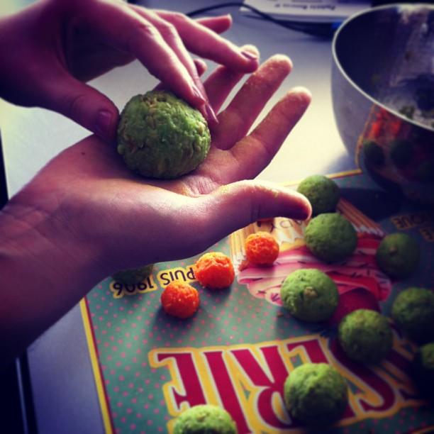 Réalisation des boulettes