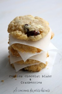 cookies chocolat blanc et cranberries (3)