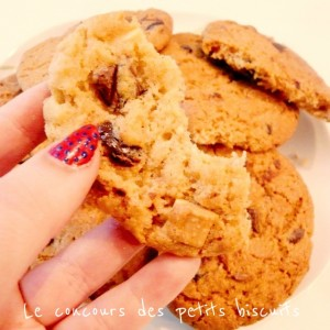 Cookies trois choco