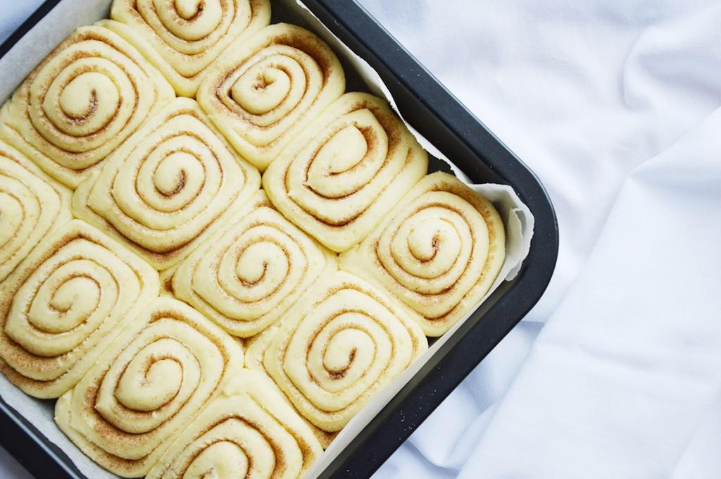 No baked Cinnamon rolls