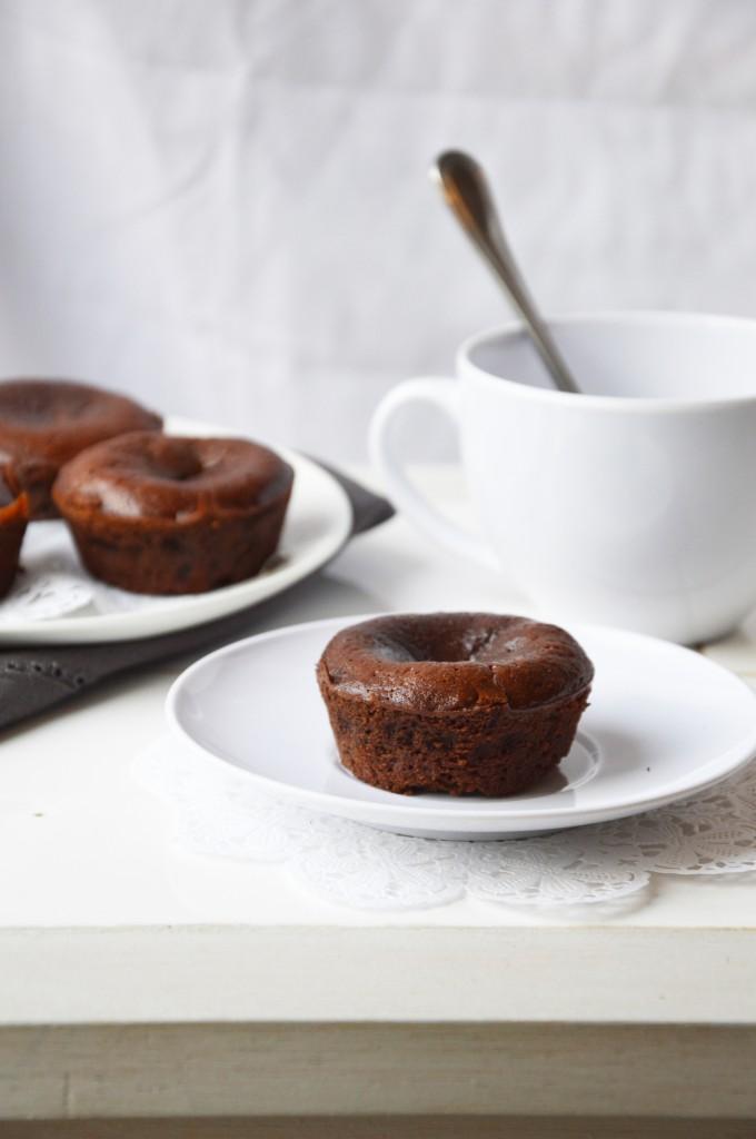 Fondant chocolat - Plus une miette dans l'assiette