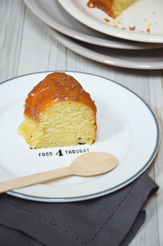 Bundt cake tonka-caramel beurre salé - Plus une miette dans l'assiette