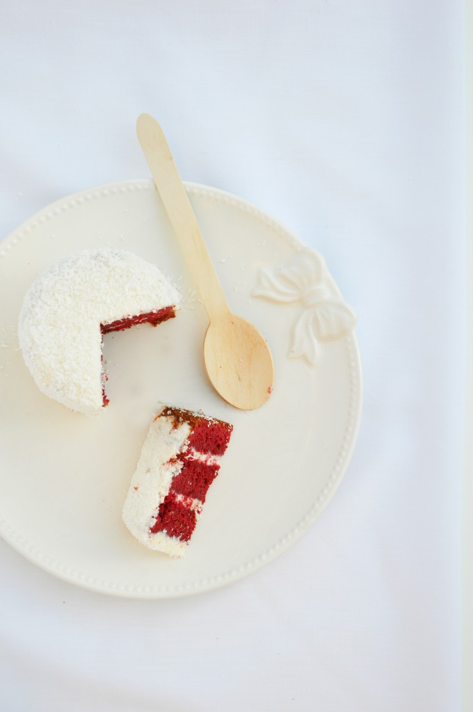 Red Velvet Cake - Plus une miette dans l'assiette