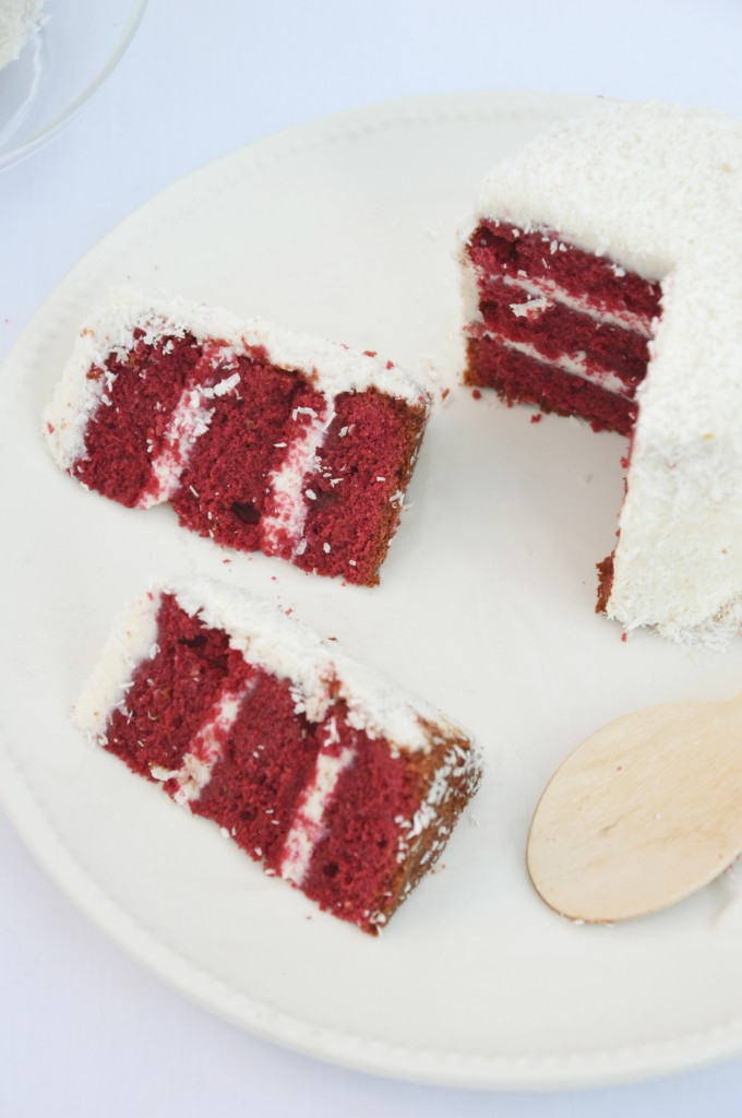 Red Velvet Cake - Plus une miette