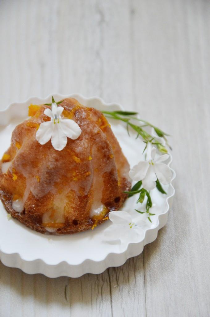 Bundt cake fleur d'oranger Plus une miette