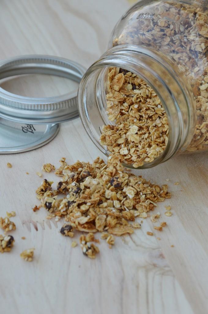 Mon granola maison - Plus une miette dans l'assiette