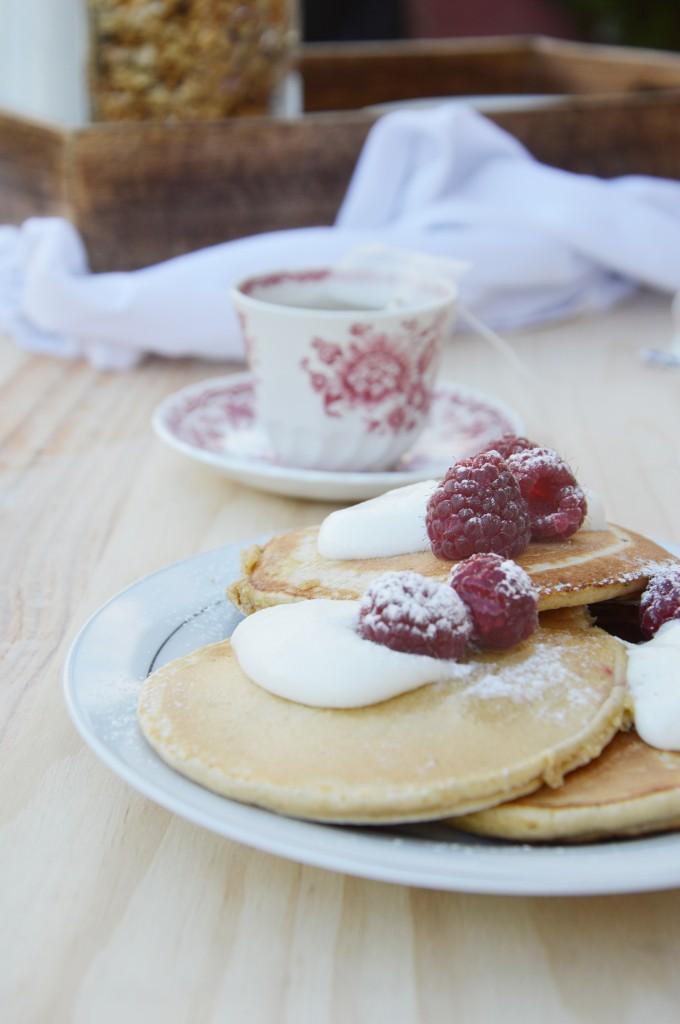 Pancakes farine d'avoine - Plus une miette dans l'assiette