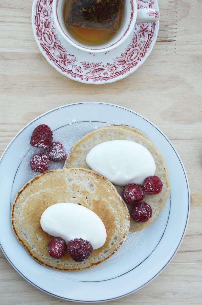 Pancakes à la farine d'avoine - Plus une miette dans l'assiette