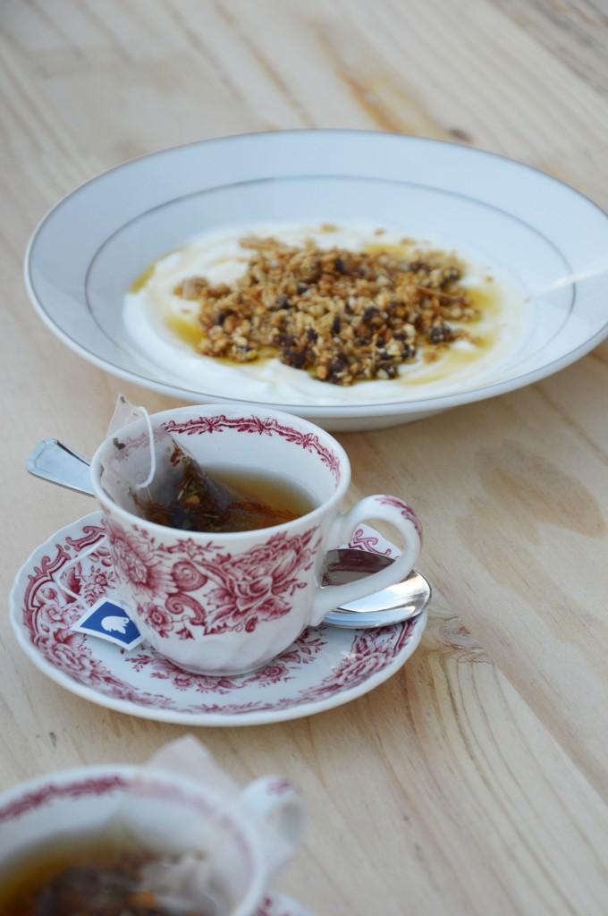 Granola - Plus une miette dans l'assiette