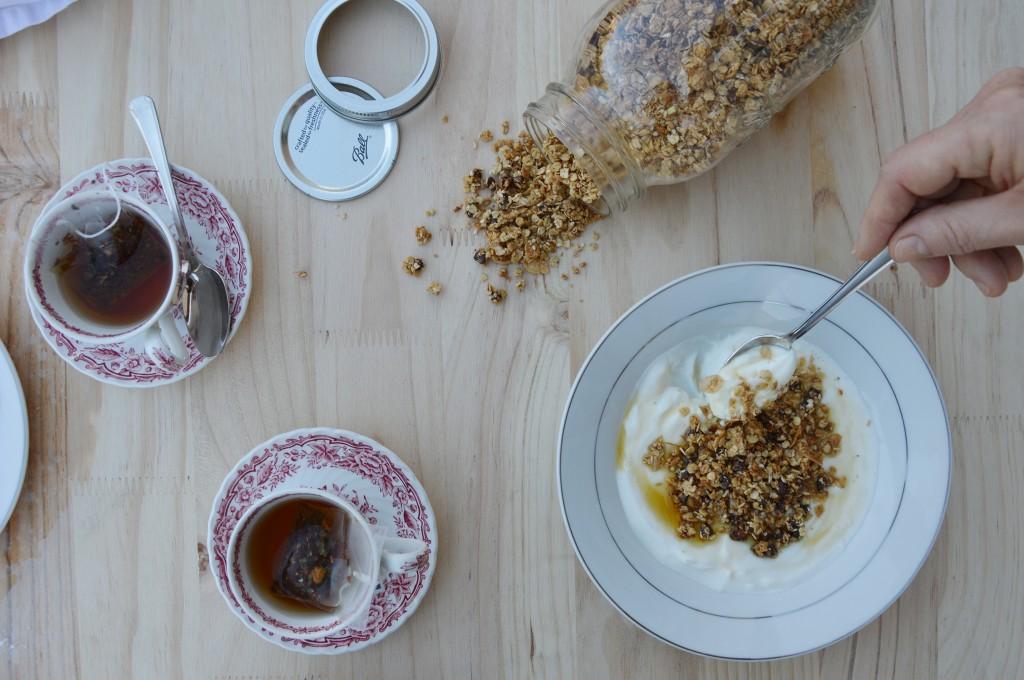 Homemade granola  - Plus une miette dans l'assiette
