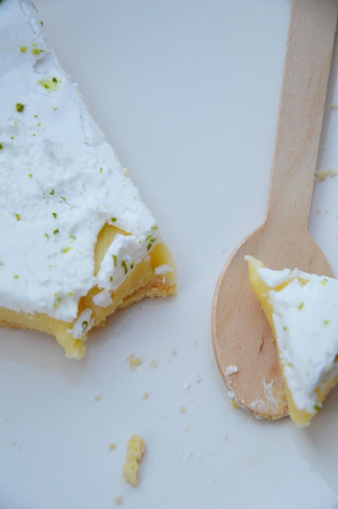 Tarte aux deux citrons - Plus une miette dans l'assiette
