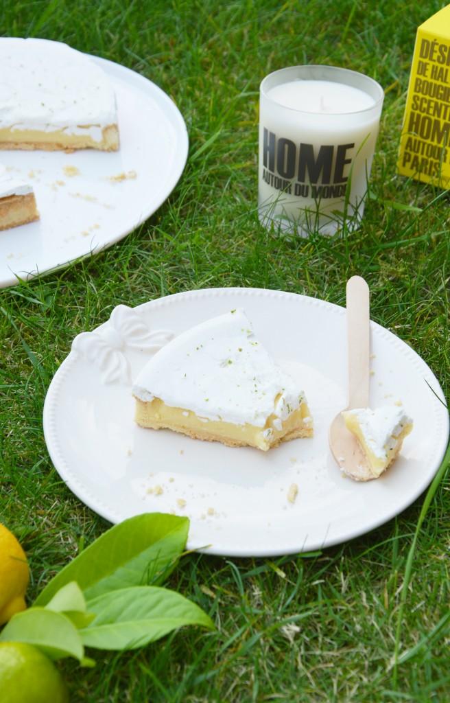 Tarte aux 2 citrons / Plus une miette dans l'assiette
