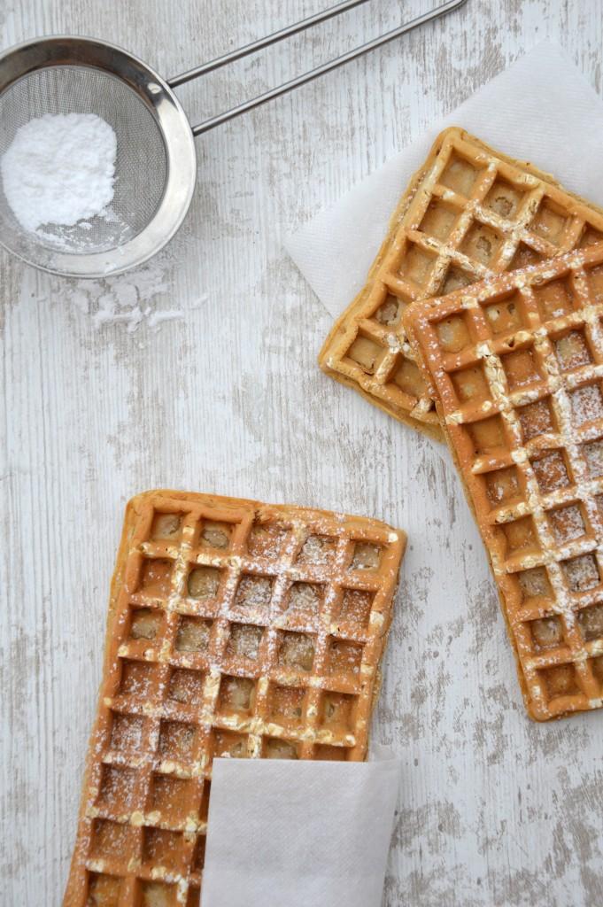 Gaufre sans beurre à l'avoine by Plus une miette dans l'assiette
