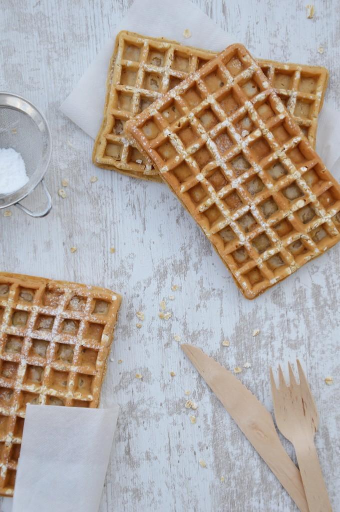 Gaufres sans beurre - Plus une miette dans l'assiette