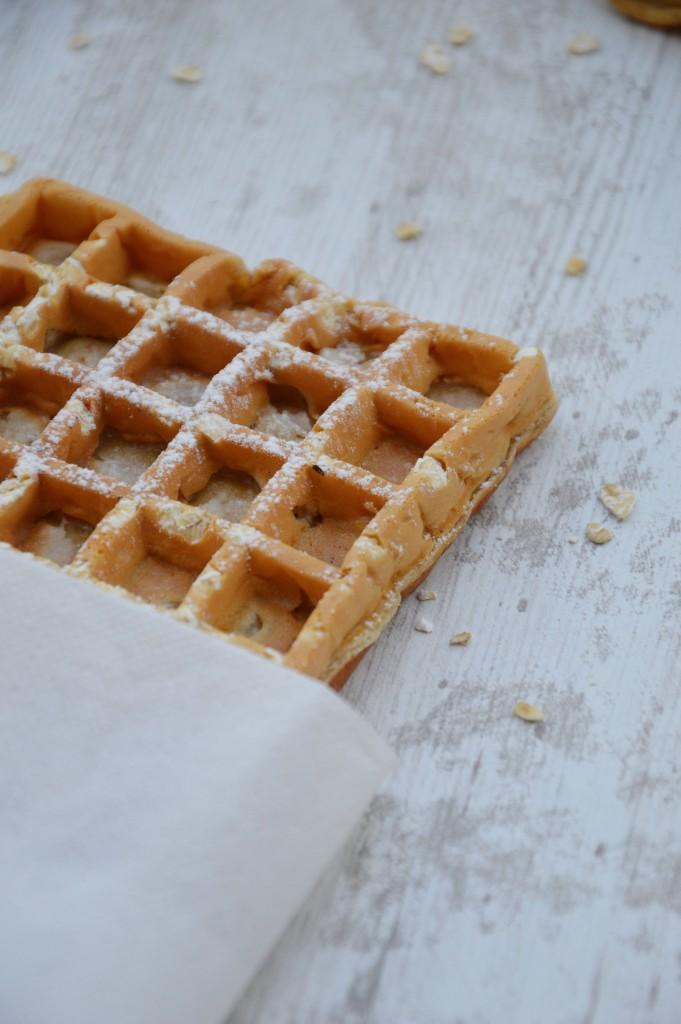 Gaufre à l'avoine - Plus une miette dans l'assiette