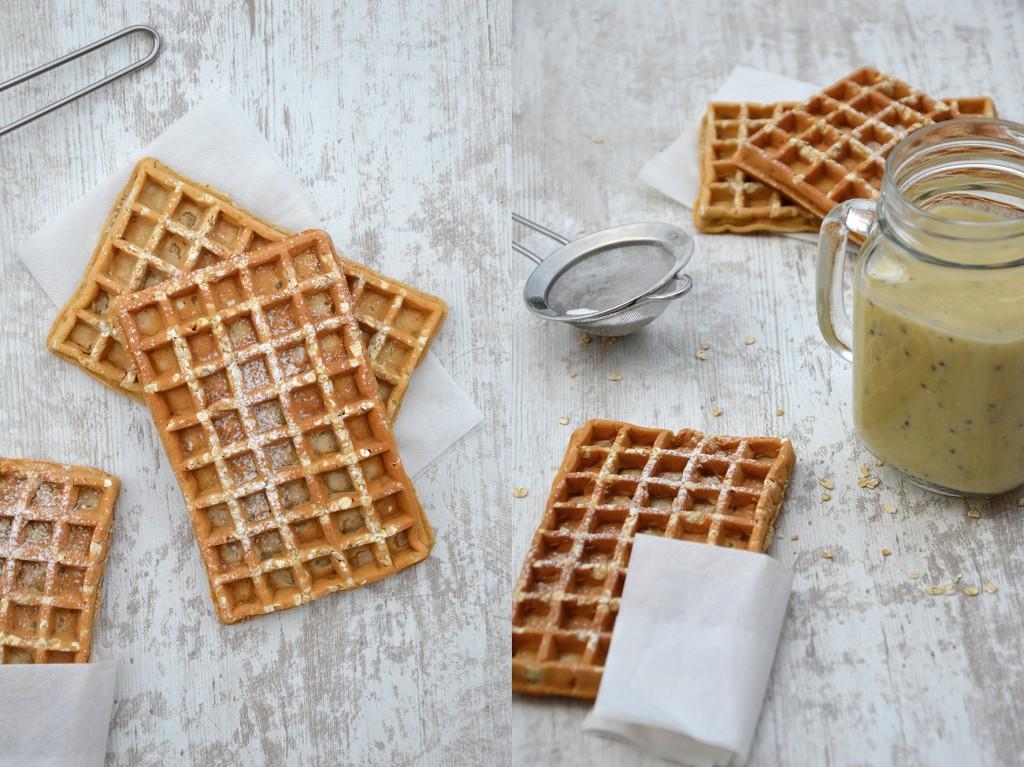 Gaufre sans beurre / Plus une miette dans l'assiette
