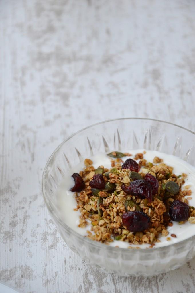 Brunch coloré - Granola - Plus une miette dans l'assiette