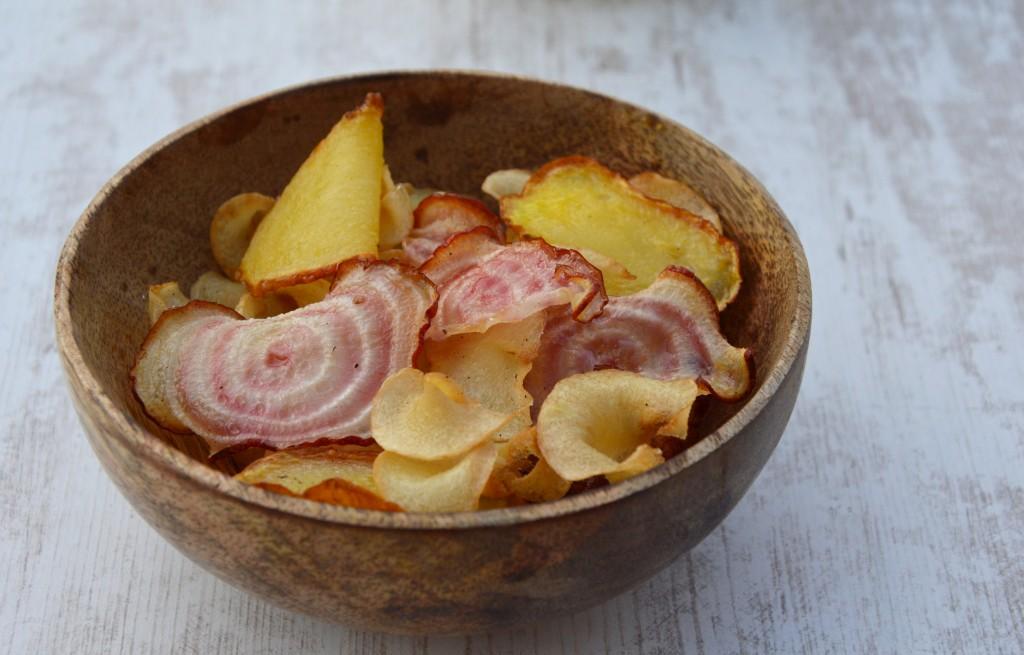 Chips panais-betterave - Plus une miette