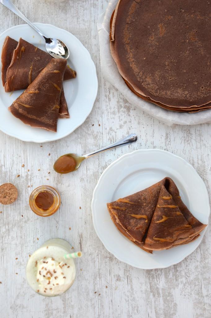 Crêpes chocolat - Plus une miette dans l'assiette