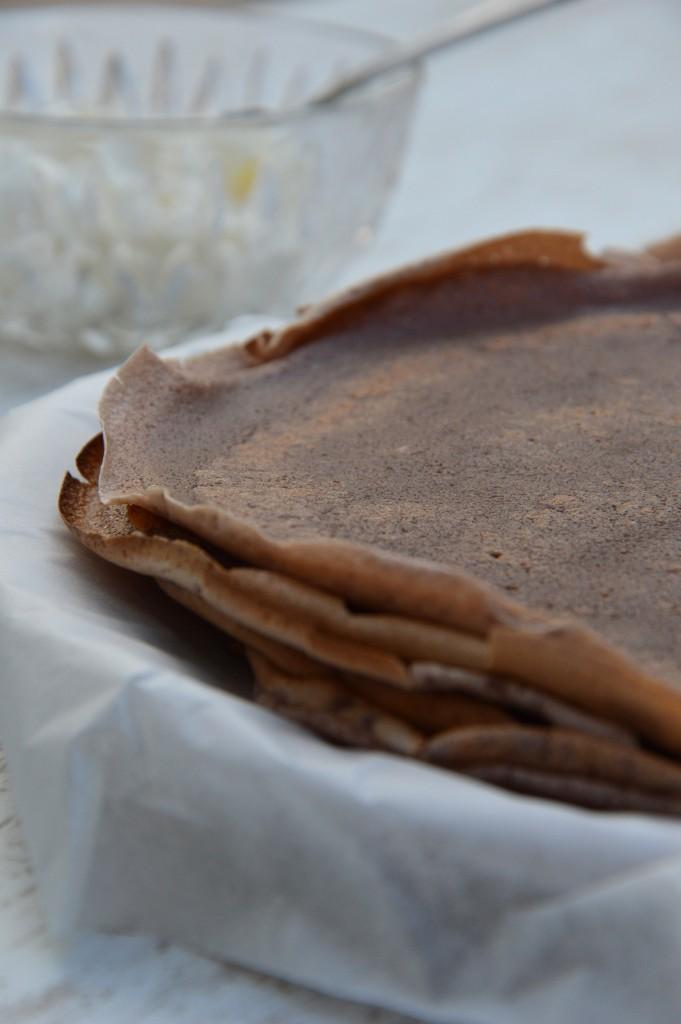 Crêpes au chocolat - Plus une miette