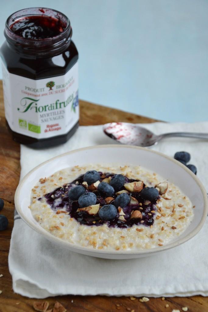 Porridge maison - Plus une miette dans l'assiette