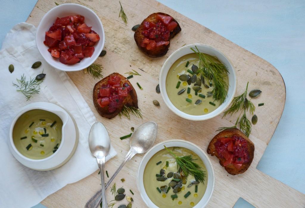 Crostini et soupe - Plus une miette