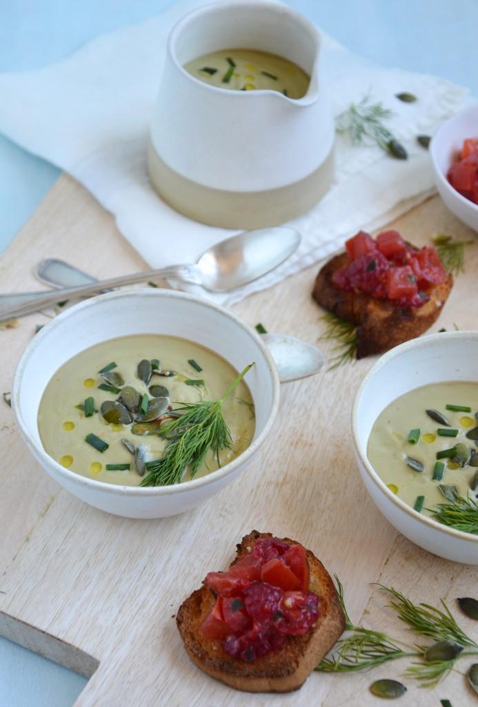 Soupe et crostini - Plus une miette
