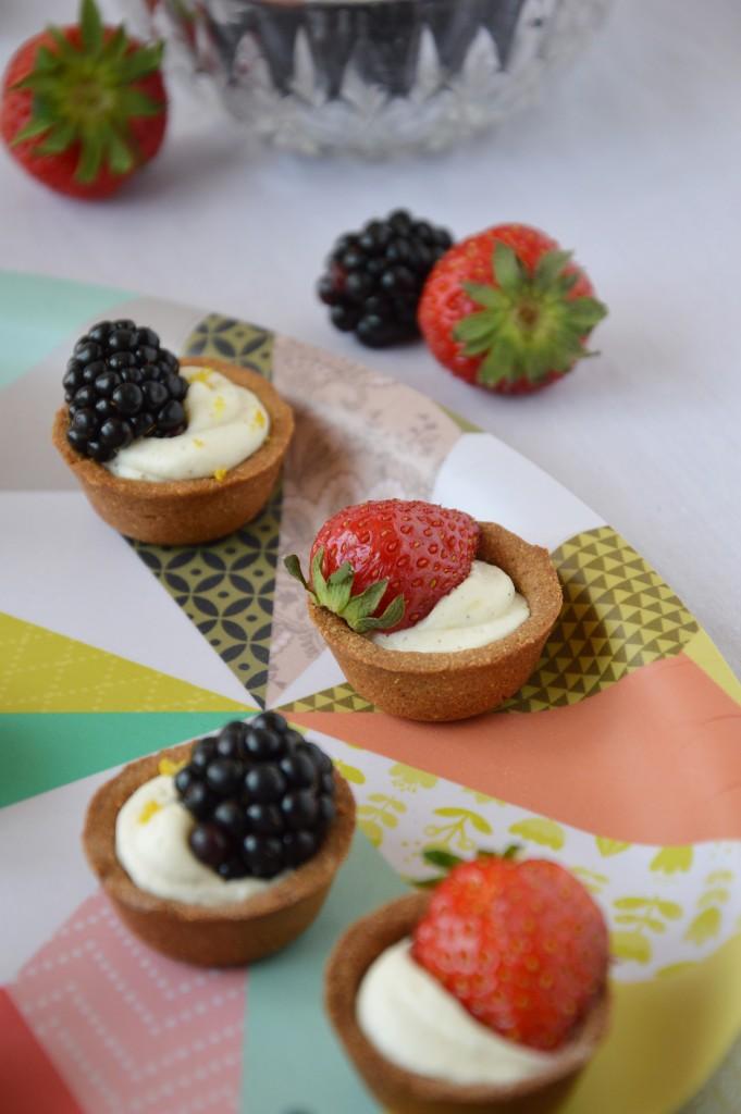 Tartelette mures - fraises /// Plus une miette dans l'assiette