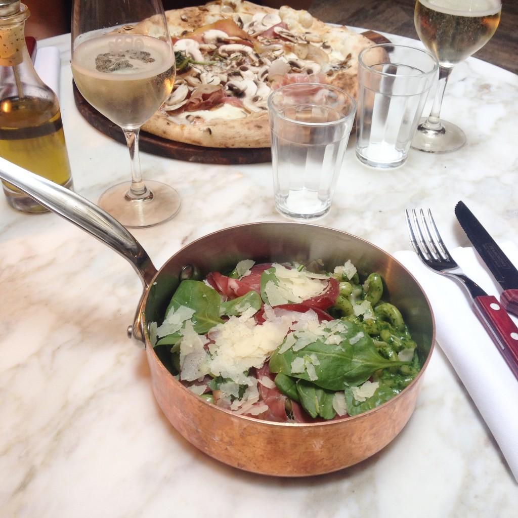 bresaola e spinaci - East Mamma