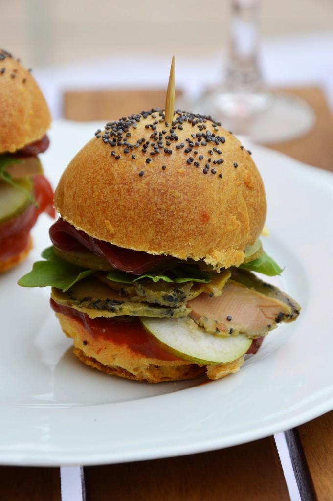 Minis burger - Plus une miette dans l'assiette
