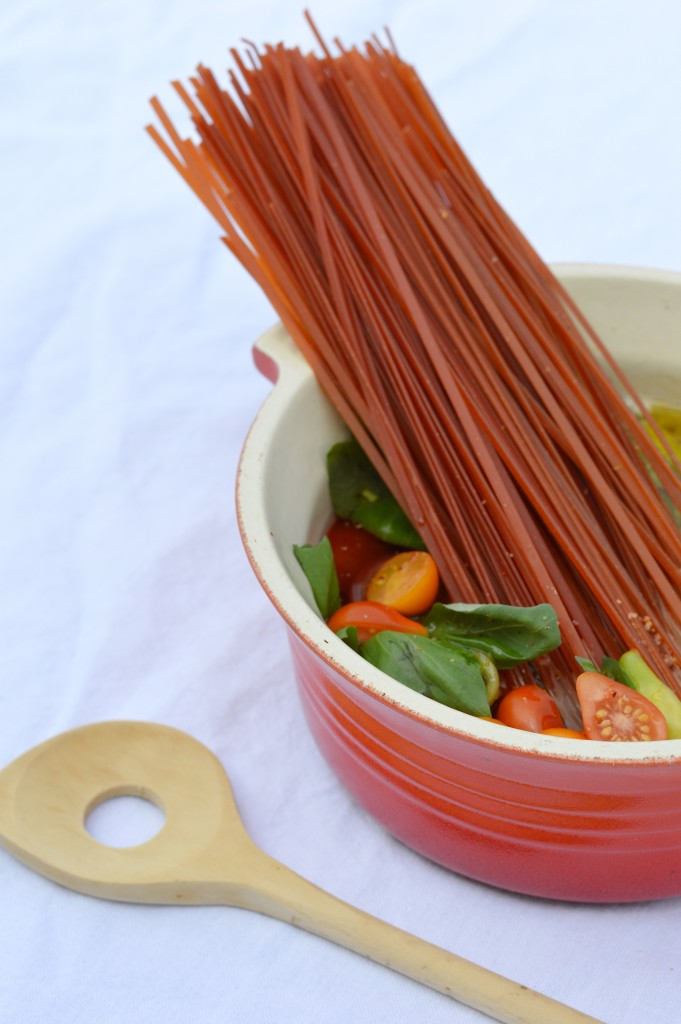 One pot pasta par Plus une miette