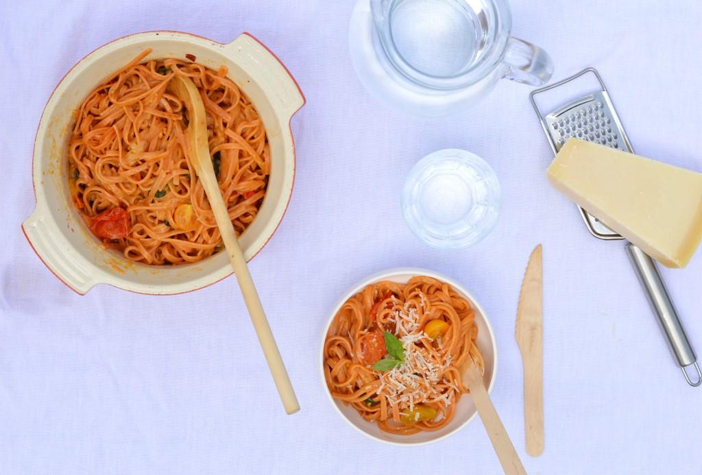 One pot pasta par Plus une miette dans l'assiette