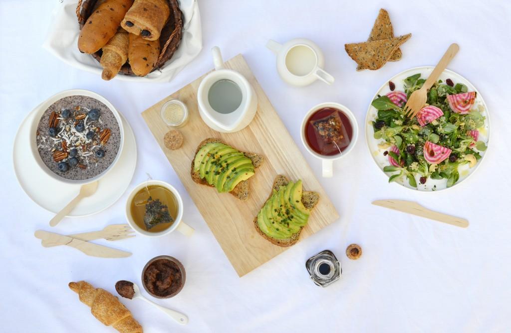 Gluten free brunch - Plus une miette dans l'assiette