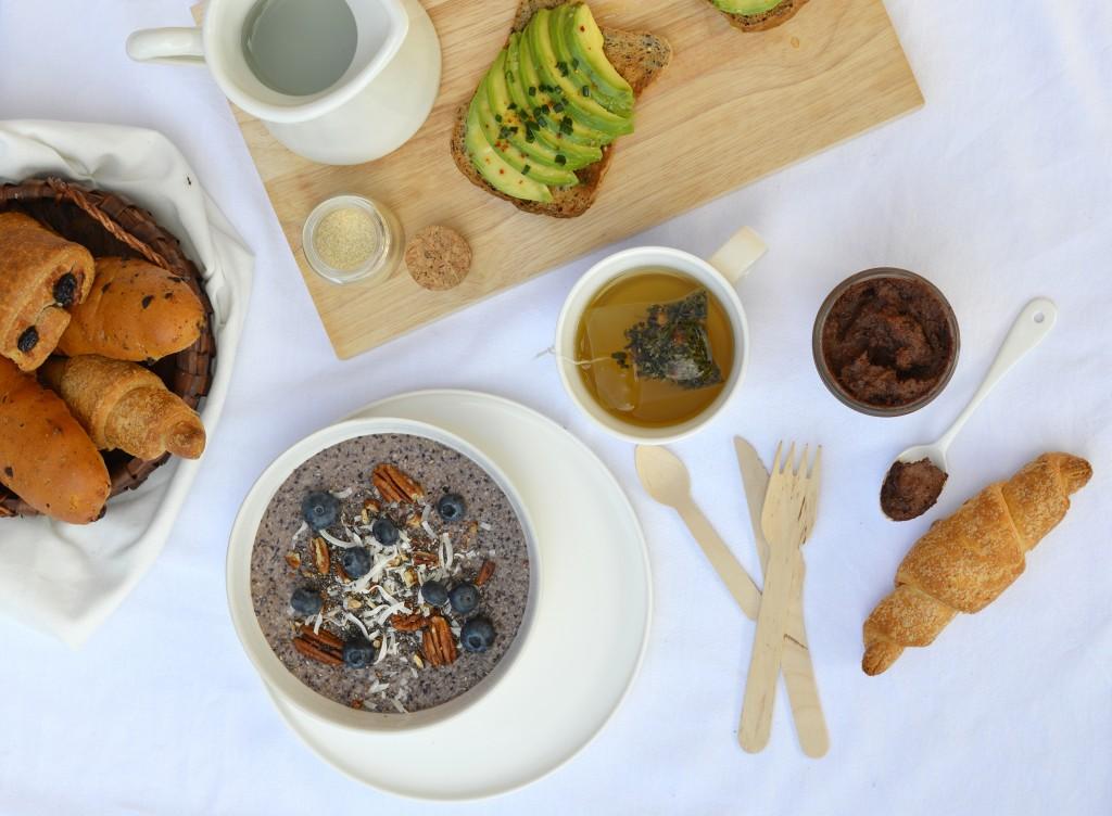Gluten free brunch - Pâte à tartiner sans gluten - Plus une miette dans l'assiette
