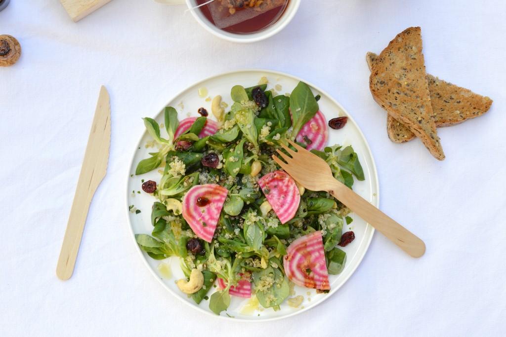 Gluten free brunch - Healthy salad - PLus une miette dans l'assiette