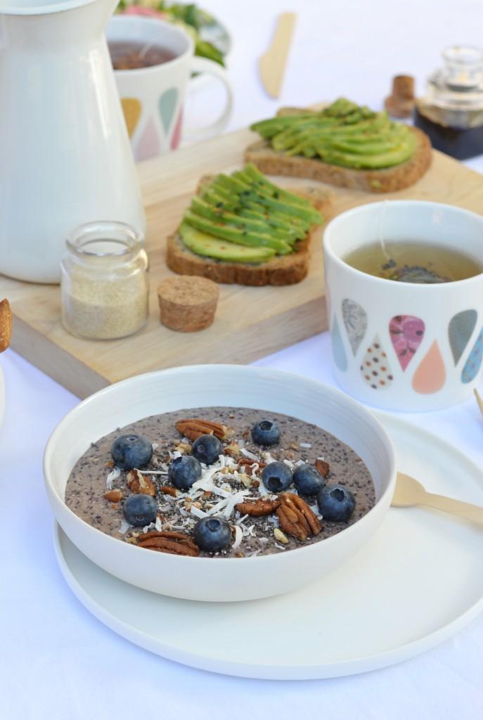 Gluten free brunch - Smoothie Bowl - Plus une miette dans l'assiette