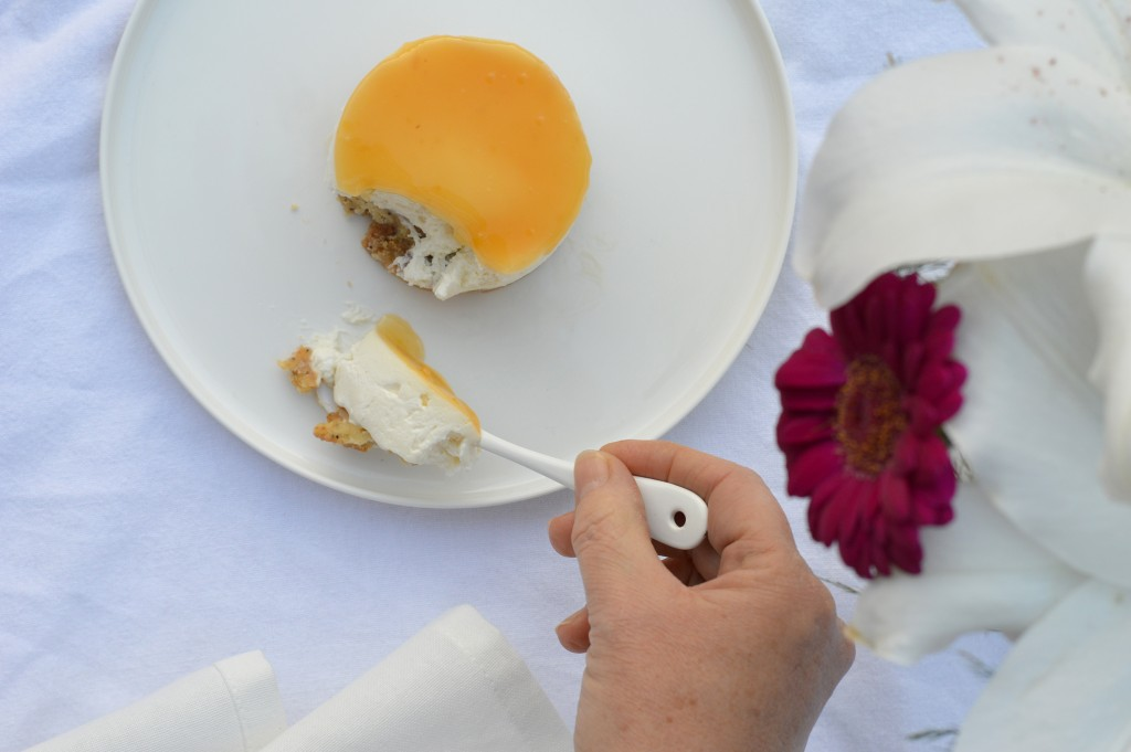 Cheesecake sans cuisson à la crème de citron / Plus une miette dans l'assiette