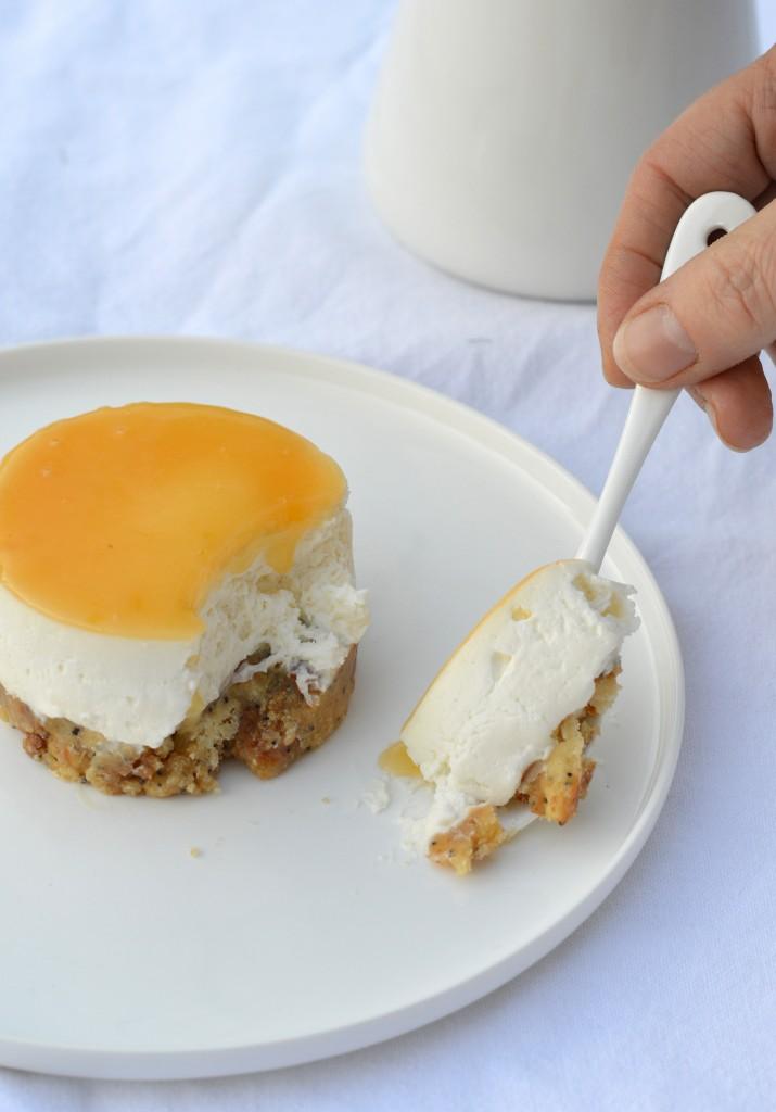Cheesecake sans cuisson au citron par Plus une miette dans l'assiette