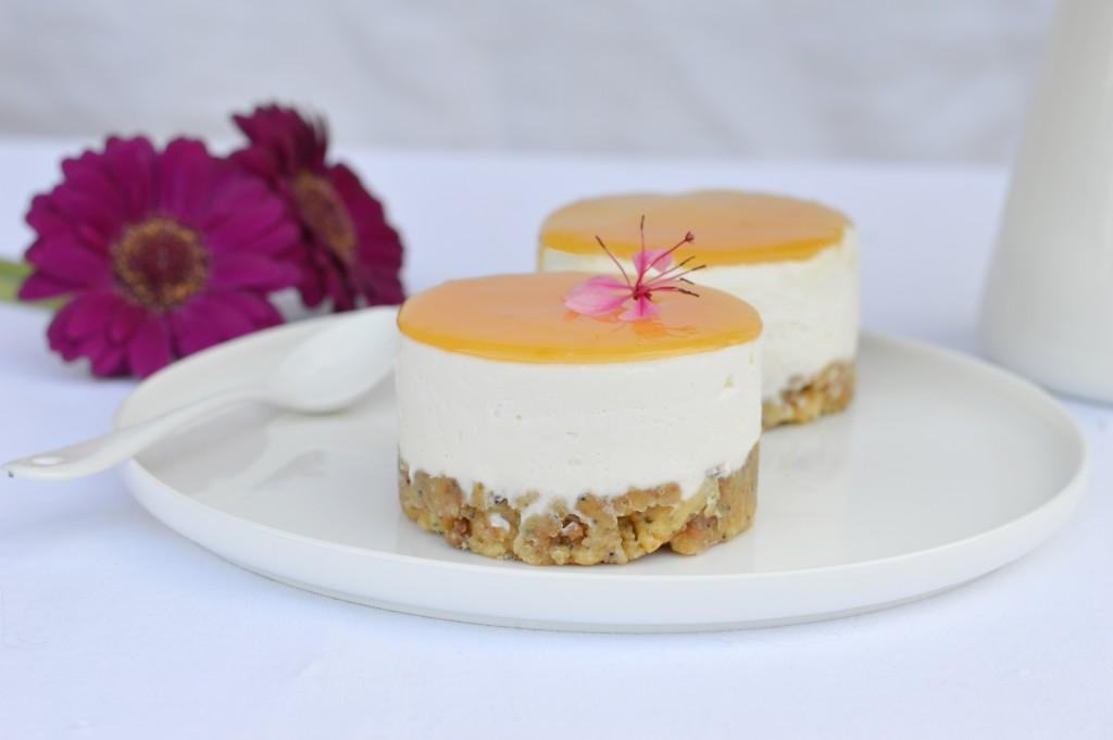 Cheesecake sans cuisson au citron - Plus une miette dans l'assiette
