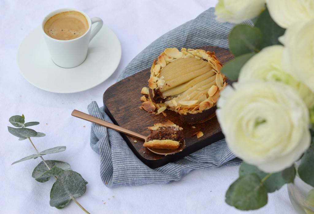 Tartelettes poire-amande choco - Plus une miette