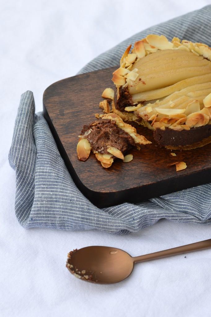 Tartelettes poire-amande chocolat - Plus une miette dans l'assiette
