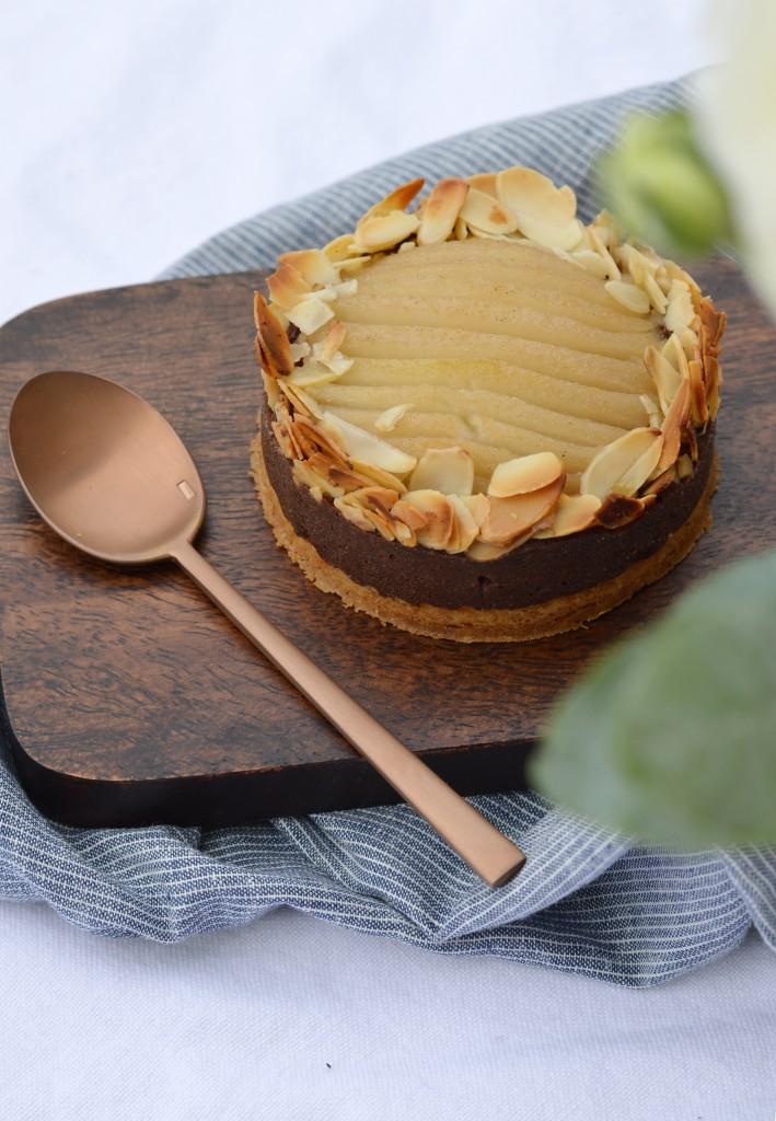 Tartelettes poire-amande choco - Plus une miette dans l'assiette
