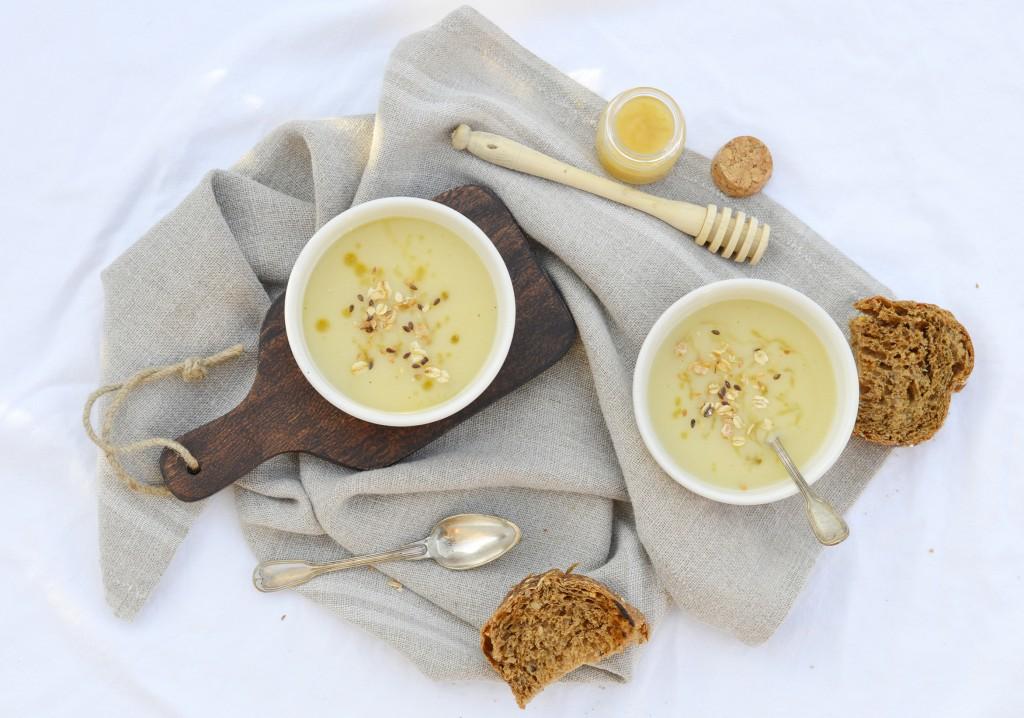 Soupe panais-miel - Plus une miette