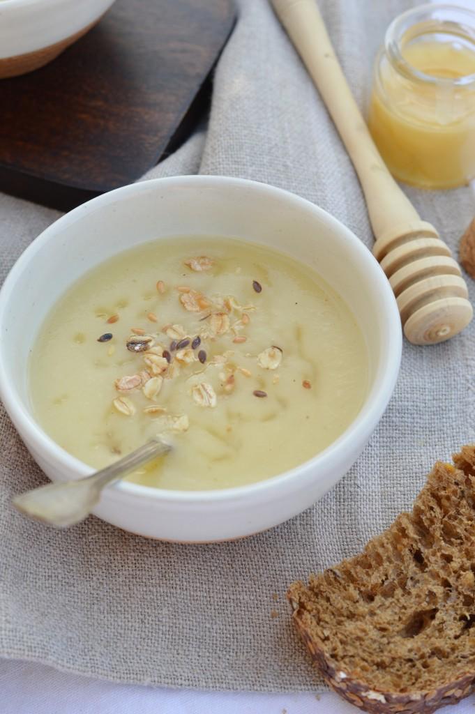 Soupe panais-miel / Plus une miette dans l'assiette