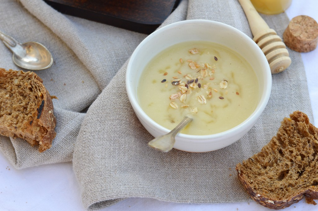 Soupe panais-miel - Plus une miette dans l'assiette