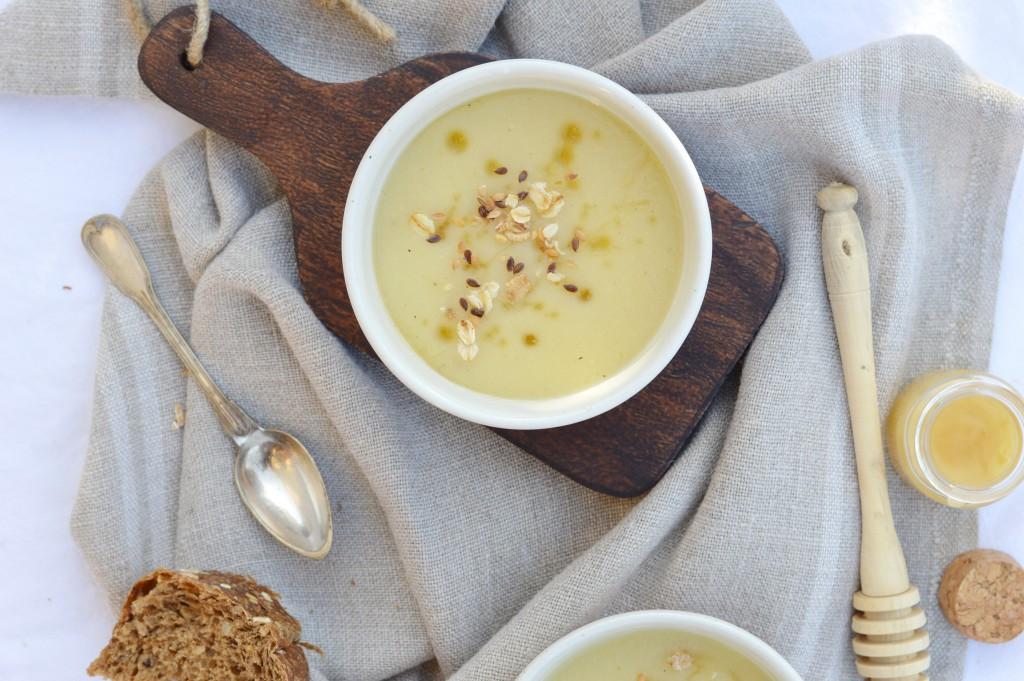 Soupe panais-miel Plus une miette dans l'assiette