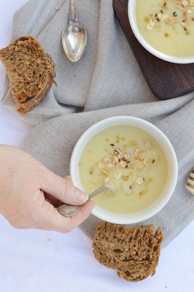 Soupe panais-miel Plus une miette
