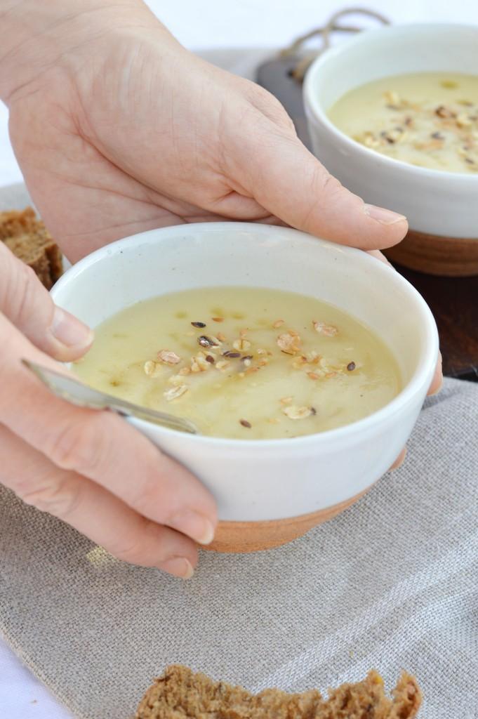 Soupe panais-miel / Plus une miette